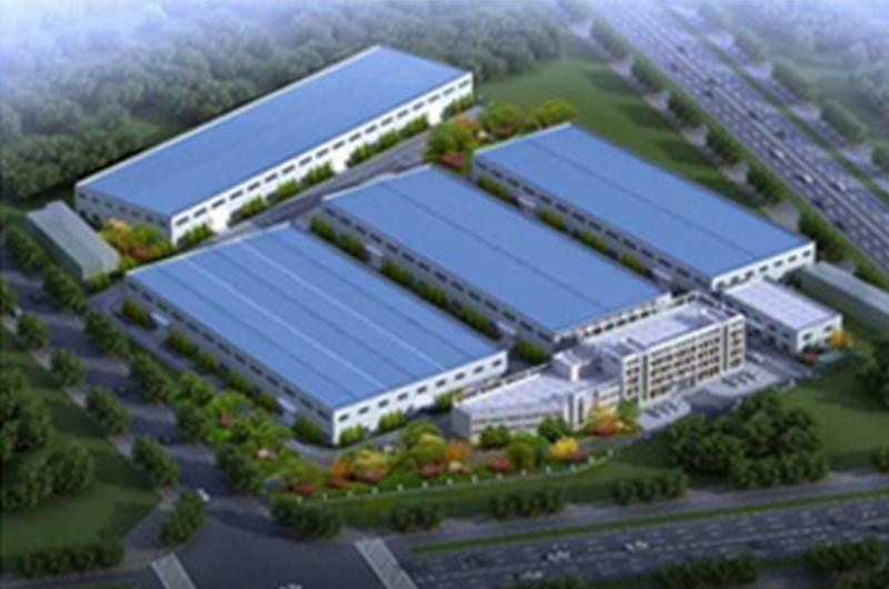 博西华滁州干衣机洗衣机新建工厂(烟囱)