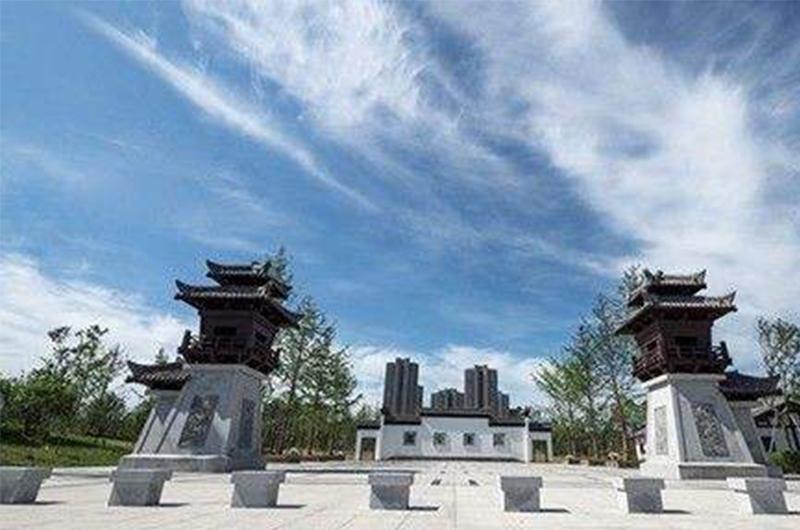 安庆潜山文化公园(烟囱)