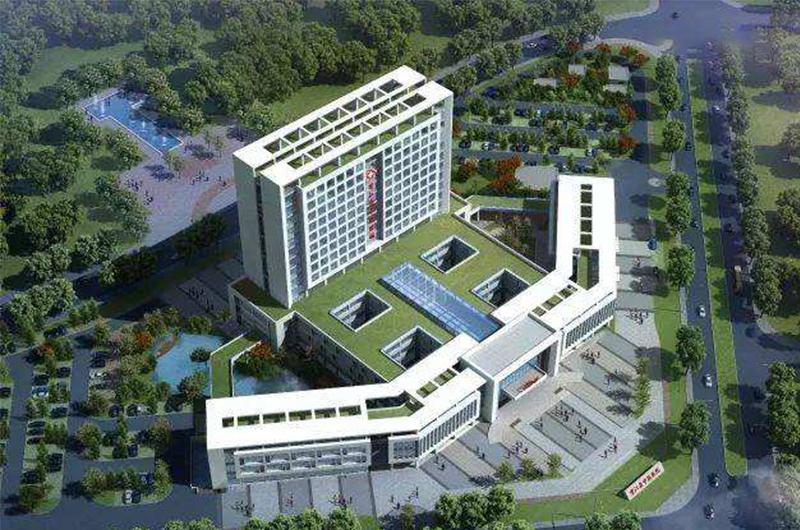 皖南医学院第二附属医院(烟囱)